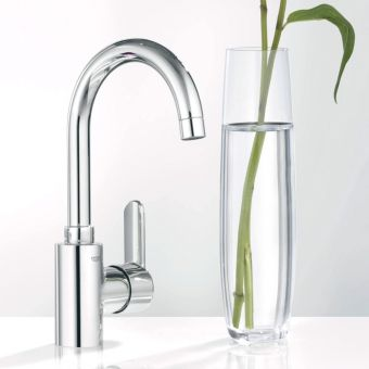 Grohe Eurostyle Cosmopolitan Tall Side Lever Basin Mixer Tap