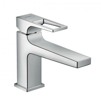 hansgrohe Metropol 100 Long Spout Basin Mixer with Loop Handle