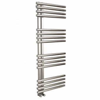 Apollo Garda Offset Stainless Steel Towel Warmer