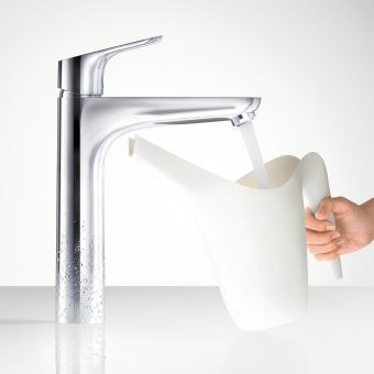 Hansgrohe Focus 190 Tall Basin Mixer Tap