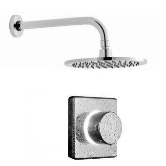 Bathroom Brands Contemporary Digital Shower with Round Head