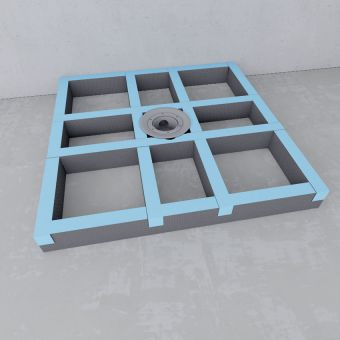 wedi Fundo Primo Easy Plinth Set