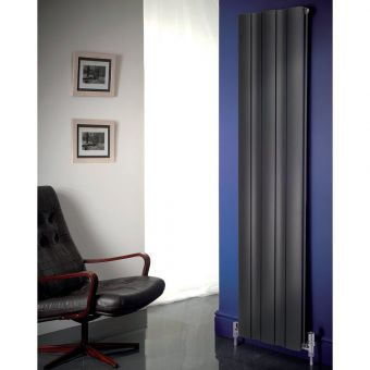 Apollo Malpensa Wave Vertical Aluminium Radiator