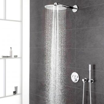 Grohe Grohtherm SmartControl Perfect Shower System with Rainshower 310 SmartActive Shower Head - 34705000GR