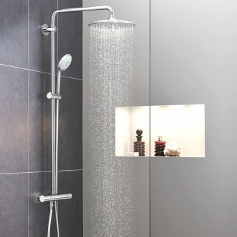 Grohe Euphoria Cosmopolitan 260 Shower Mixer with Drench Head and Handshower - 27615001