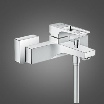 Hansgrohe Metropol Bath Shower Mixer Tap with Loop Handle