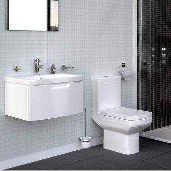 Saneux I-Line Close Coupled Toilet