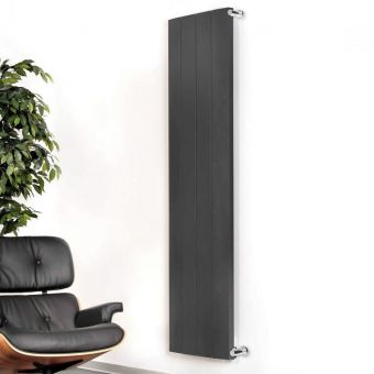 Apollo Malpensa Curved Vertical Aluminium Radiator