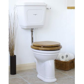 Perrin & Rowe Victorian Low Level Toilet