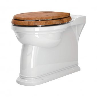Perrin & Rowe Victorian Back to Wall Toilet - 2879