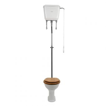 Perrin and Rowe Victorian High Level WC - 2865