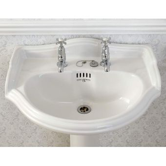Perrin and Rowe Edwardian Bathroom Basin