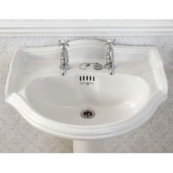 Perrin and Rowe Edwardian Bathroom Basin