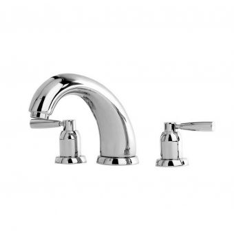 Perrin and Rowe Contemporary 180mm Three Hole Bath Set