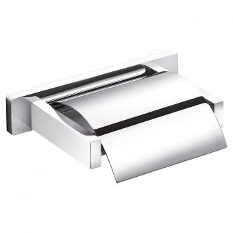 Inda Lea Square Toilet Roll Holder with Cover