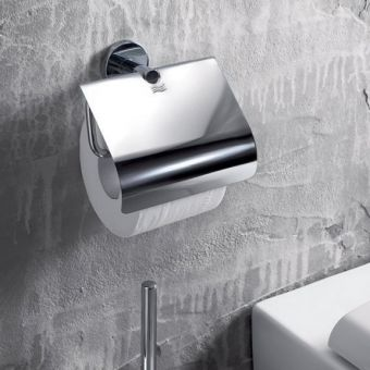 Inda Gealuna Toilet Roll Holder with Cover