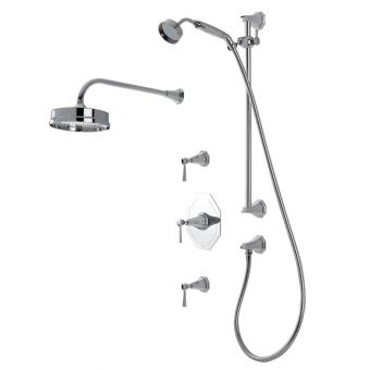 Perrin & Rowe Deco Shower Set Two