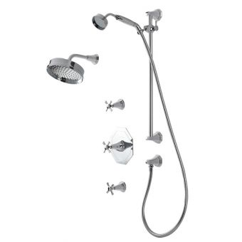 Perrin and Rowe Deco Shower Set One - DSS1