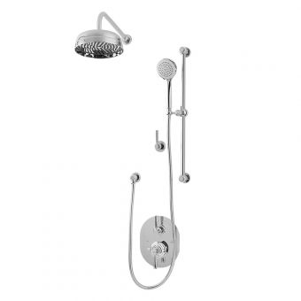 Perrin and Rowe Contemporary Concealed Shower Set Three