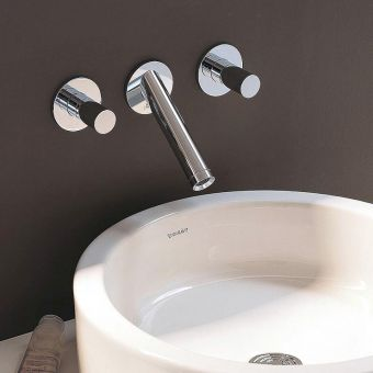 AXOR Starck Wall-Mounted Basin Mixer Tap