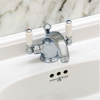 Perrin and Rowe Traditional Monobloc Basin Mixer Tap - 3635CP