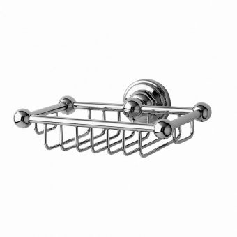 Perrin and Rowe Traditional Wall Mounted Soap Basket - 6967CP