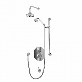 Perrin and Rowe Traditional Shower Set Two