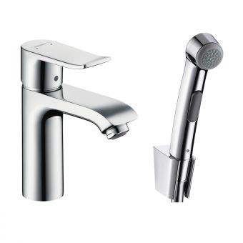 Hansgrohe Metris Bidet Mixer Tap with 1jet Hand Shower