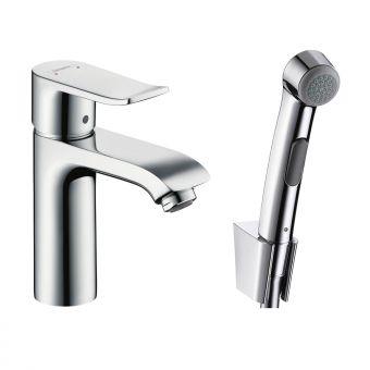 Hansgrohe Metris Bidet Mixer Tap with 1jet Hand Shower - 31285000