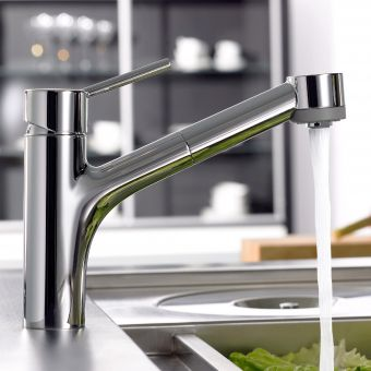 Hansgrohe Talis Kitchen Mixer Tap, with Pull-out Spray