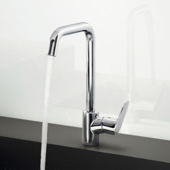 Kitchen taps kitchen mixer taps boiling water taps taps with pull out spouts uk bathrooms Hansgrohe logis loop single hole bathroom faucet