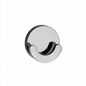 Smedbo Loft Double Towel Hook (Diameter: 55mm)
