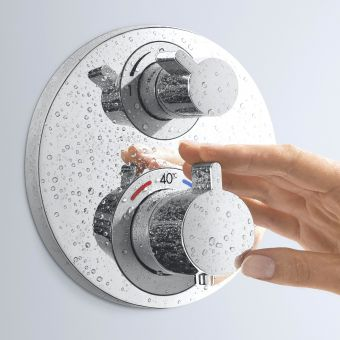 Hansgrohe Ecostat S Concealed Shower Valve - 15757000