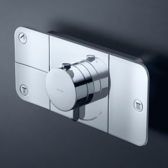 AXOR One Thermostatic Shower Module for Concealed Installation