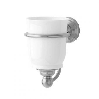 Perrin and Rowe Traditional Single Tumbler Holder - 6925CP