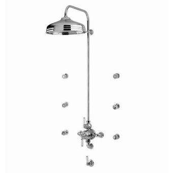 Perrin & Rowe Traditional Shower Set Four