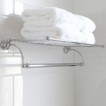 Perrin & Rowe Traditional Towel Rack - 6961CP