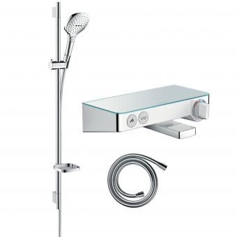 Hansgrohe Soft Cube Raindance Select Kit with Shower & Bath Filler Valve