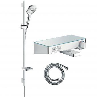 Hansgrohe Soft Cube Raindance Select Kit with Shower & Bath Filler Valve - 88101043