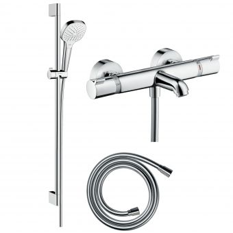 Hansgrohe Soft Cube Croma Select Kit with Shower & Bath Filler Valve