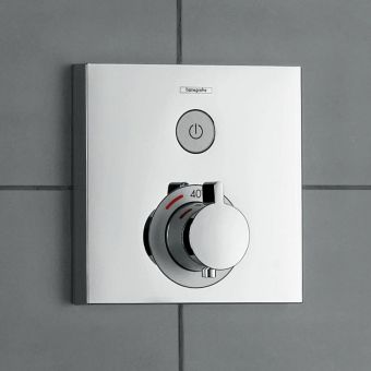Hansgrohe ShowerSelect Thermostatic Mixer, with on/off - 15762000