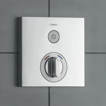Hansgrohe ShowerSelect Manual Mixer, with on/off - 15767000