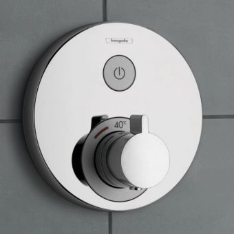 Hansgrohe ShowerSelect S Thermostatic Mixer, with on/off