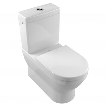 V & B Architectura Washdown Close Coupled Toilet