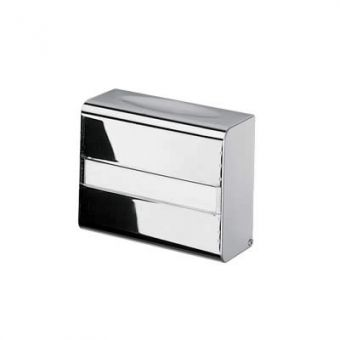 Inda Hotellerie Surface Mounted Stainless Steel Toilet Paper Holder