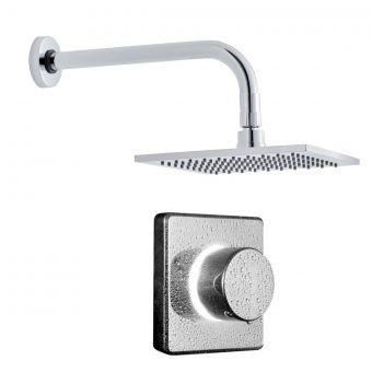 Bathroom Brands Contemporary Digital Shower with Square Head