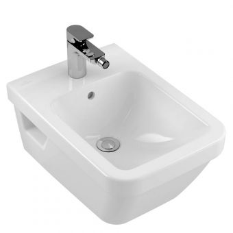 Villeroy and Boch Architectura Square Wall Mounted Bidet