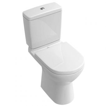 Villeroy and Boch O.Novo Rimless Close Coupled Toilet