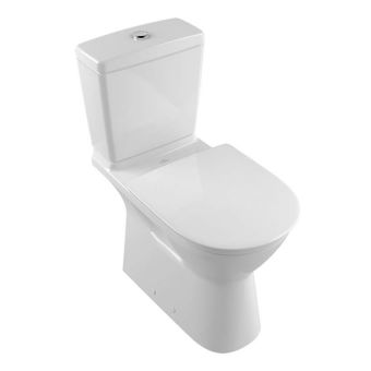 Villeroy & Boch O.Novo Vita Close Coupled Rimless Toilet