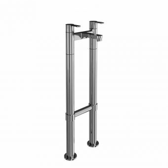 Britton Crystal Floorstanding Bath Filler